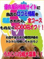 口コミ投稿2,000円割引さん(多治見・土岐・春日井ちゃんこ)のプロフィール画像